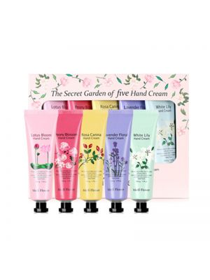 [MEDI FLOWER] The Secret Garden Of Five Hand Cream 50g * 5ea