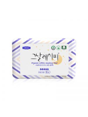 [D.RECIPE] Organic Cotton Sanitary Pad [Overnight] 340mm * 8ea