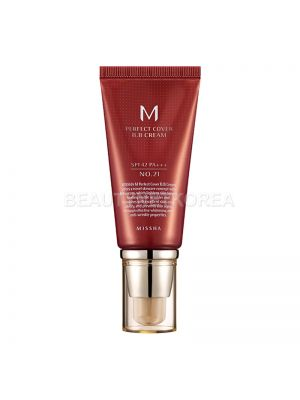 [MISSHA] M Perfect Cover BB Cream (SPF42/PA+++) 50ml #21 Light Beige