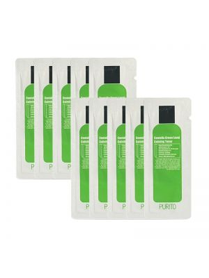 [PURITO] Centella Green Level Calming Toner 10pcs [Sample]
