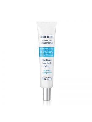 [MEDI FLOWER] Aronyx Triple Effect Real Collagen Wrinkle Eye Cream 40ml