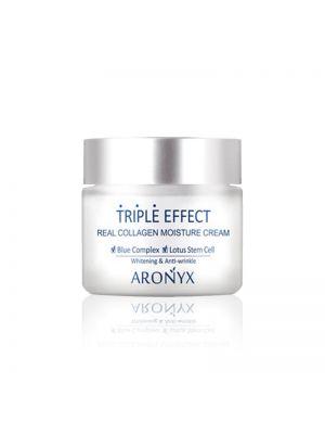 [MEDI FLOWER] Aronyx Triple Effect Real Collagen Moisture Cream