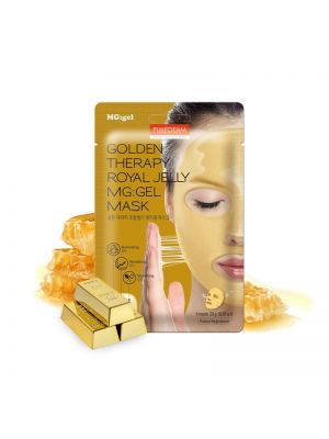 [PUREDERM] Golden Therapy Royal Jelly MG:Gel Mask 23g 1pcs