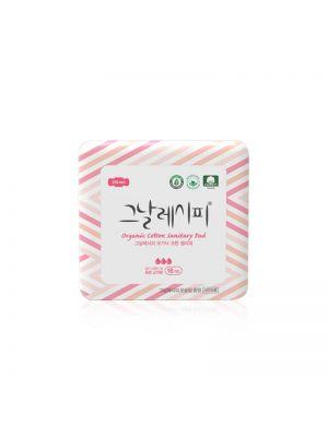 [D.RECIPE] Organic Cotton Sanitary Pad [Medium] 250mm * 16ea
