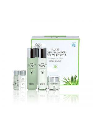 [JIGOTT] Aloe Aqua Balance Skin Care Set 3 150ml+150ml+50ml