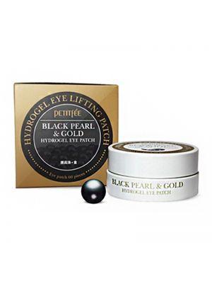 PETITFEE Black Pearl & Gold Eye Patch (1.4g*60pcs)