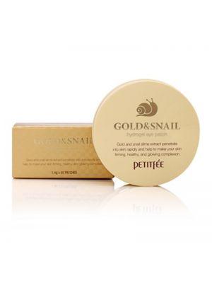 PETITFEE Gold & Snail Hydrogel Eye Patch (1.4g*60pcs)