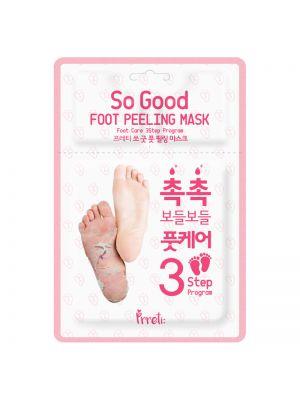 PRRETI So Good Foot Peeling Mask 3-Step Program 1pair