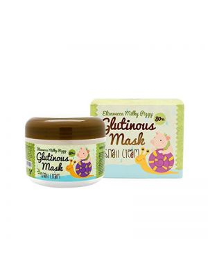 [ELIZAVECCA] Milky Piggy Glutinous Mask 80% Snail Cream 100g