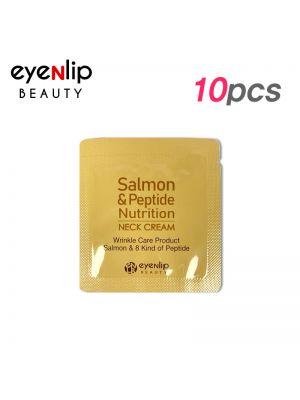 [EYENLIP] Salmon & Peptide Nutrition Neck Cream 1.5ml * 10pcs