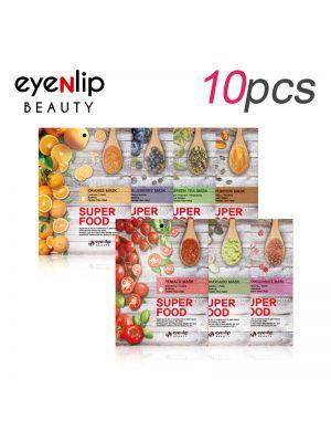 [EYENLIP] Super Food Mask 23ml * 10pcs 7 Type