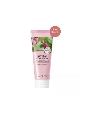 [THE SAEM] Natural Condition Cleansing Foam #Moisture